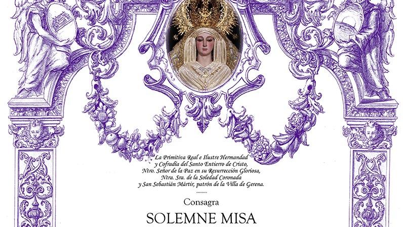 Aniversario Coronacion Virgen de la Soledad 2019