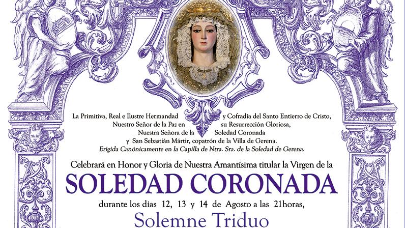 Cultos a la Virgen de la Soledad Agosto 2021