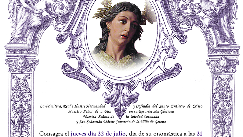 Solemne Misa en Honor y Gloria de Santa Maria Magdalena 2021