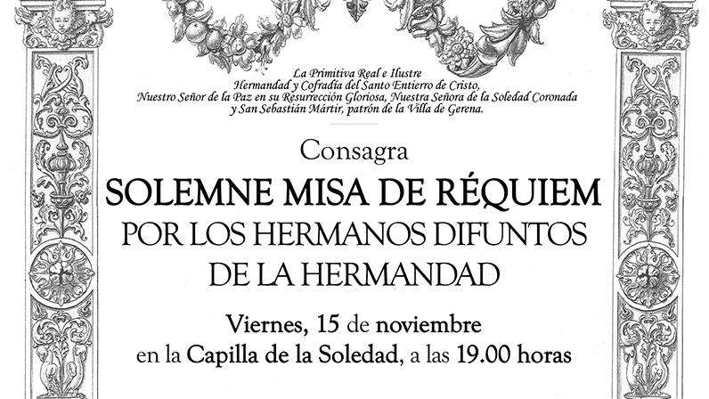 Santa Misa Requiem 2019