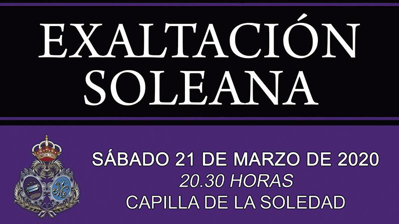 Exaltacion Soleana 2020